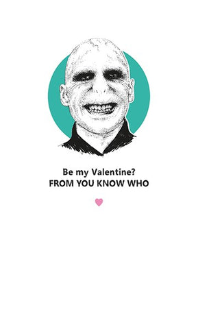 Voldemort Be My Valentine? From You Know Who Card