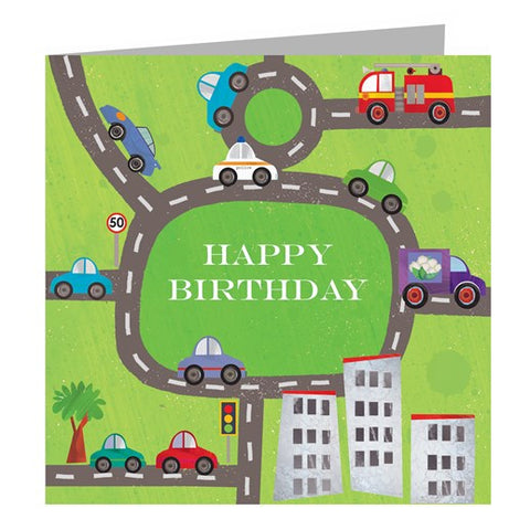 Cars Birthday Card