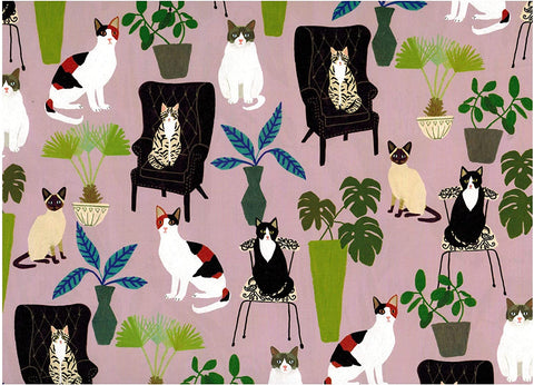 Cat Palais Wrapping Paper, 1 Sheet