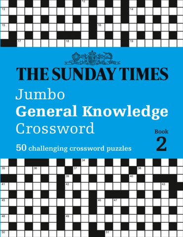 The Sunday Times Jumbo General Knowledge Crossword Book 2 by The Times