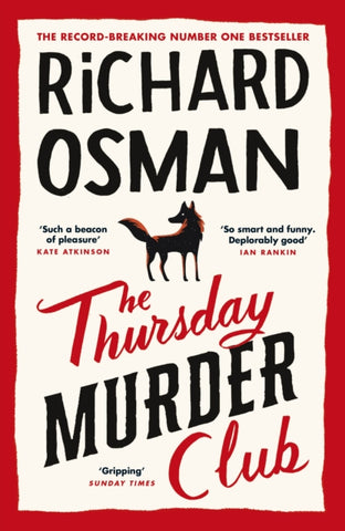 The Thursday Murder Club by Richard Osman *SIGNED COPY*
