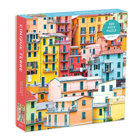 Ciao from Cinque Terre 500 Piece Jigsaw Puzzle by (creator) Galison