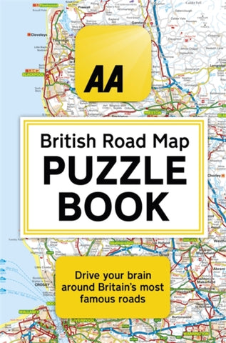 The AA British Road Map Puzzle Book