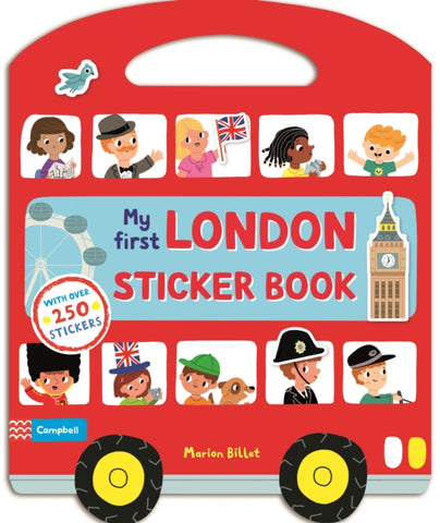 London Sticker Activity by Marion Billet
