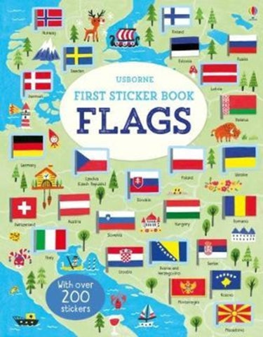 First Sticker Book: Flags by Holly Bathie