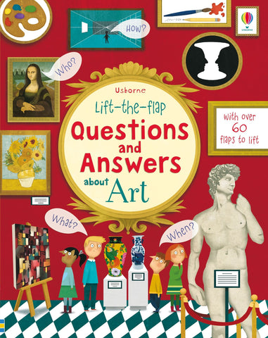 Lift-the-Flap: Questions and Answers about Art by Katie Daynes