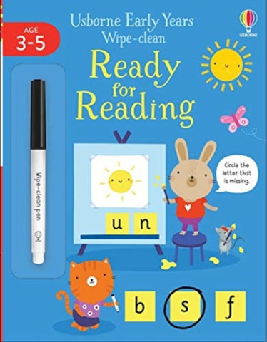 Wipe-Clean: Ready for Reading Ages 3-5