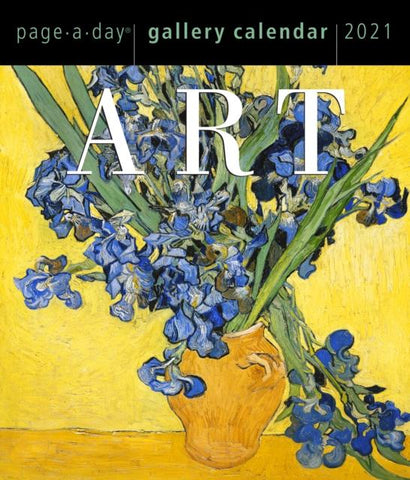 2021 Art Page-A-Day Gallery Calendar by Calendars Workman