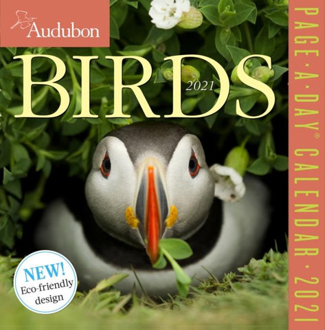 2021 Audubon Birds Colour Page-A-Day Calendar by Audubon Society National