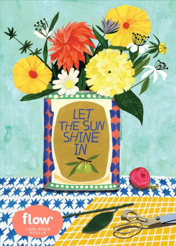 Let the Sun Shine In 1000 Piece Jigsaw Puzzle by Irene Smit