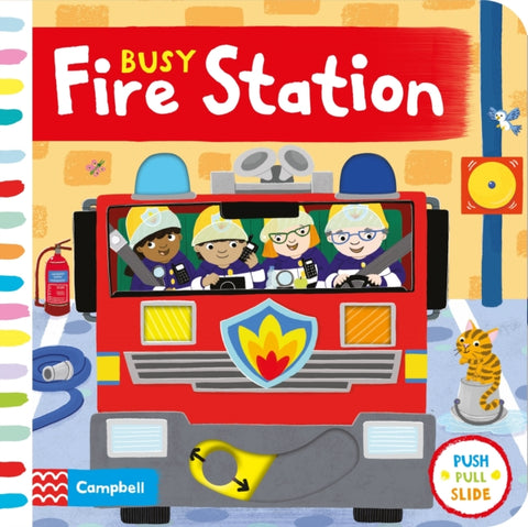 Busy Fire Station by Jo Byatt