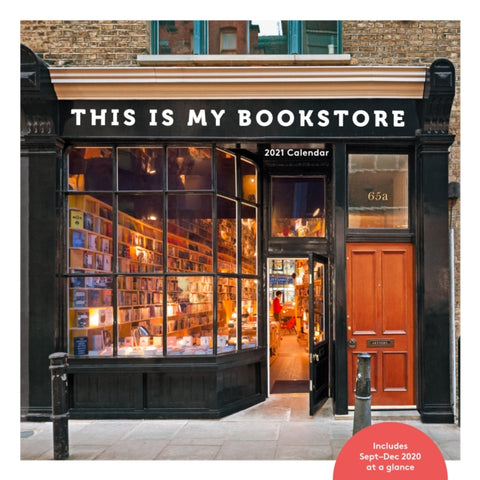 This is My Bookstore: 2021 Wall Calendar