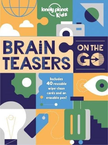 Brain Teasers on the Go by Planet Kids Lonely