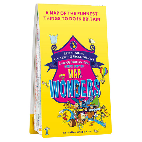 ST&G's Amazingly Adventure-Filled Great British Map of Wonders
