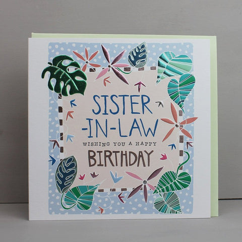 Sister-In-Law Card