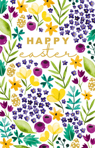 Happy Easter Floral Cards