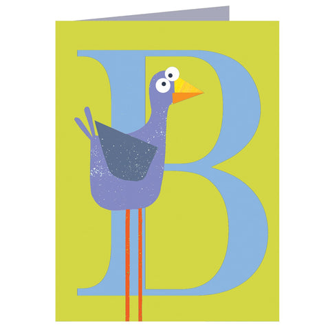 B for Bird Card