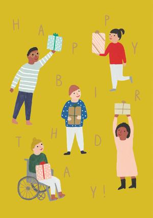 Birthday People Card