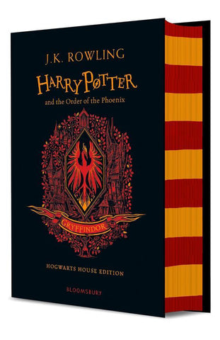 Gryffindor Ed. - Harry Potter Book 5: Harry Potter and the Order of the Phoenix by J. K. Rowling