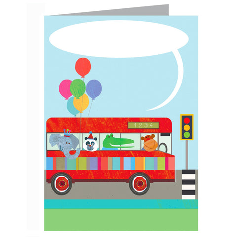 Bus message Card