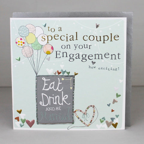 Special Couple Engagement Card