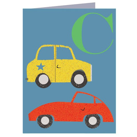 C for Cars Card