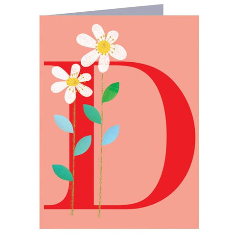 D for Daisy Card