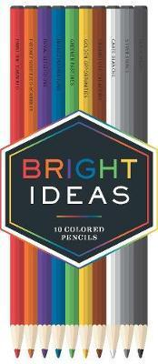 Bright Ideas Colored Pencils: 10 Colored Pencils by Books Chronicle