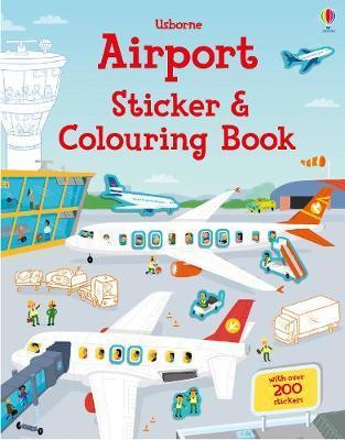 Airport Sticker and Colouring Book by Simon Tudhope