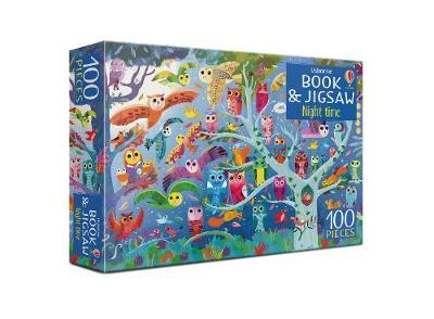 Night Time: Book and 100 Piece Jigsaw