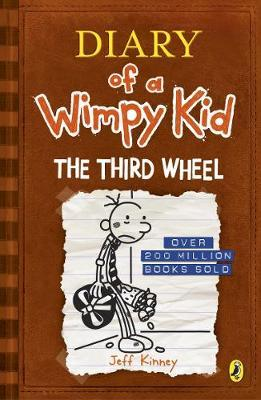 Diary of a Wimpy Kid 7: The Third Wheel by Jeff Kinney