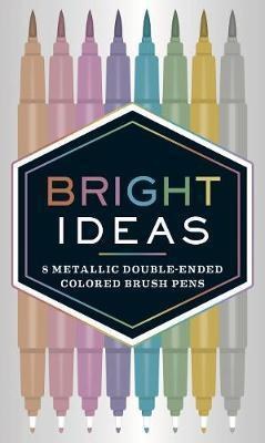 Bright Ideas: 8 Metallic Double-Ended Coloured Brush Pens