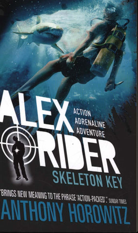 Alex Rider Book 3: Skeleton Key by Anthony Horowitz
