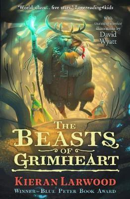 The Five Realms 3: The Beasts of Grimheart by Kieran Larwood