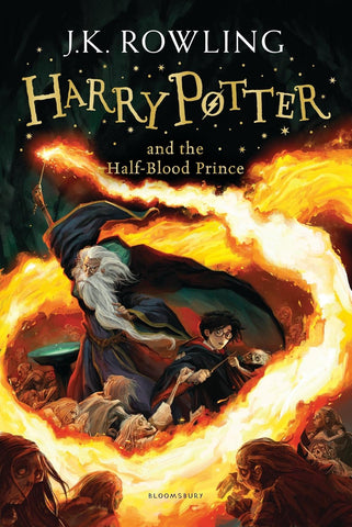Harry Potter Book 6:Harry Potter and the Half Blood Prince by J. K. Rowling