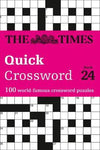 Quick Crossword Book 24: 100 General Knowledge Puzzles by The Times