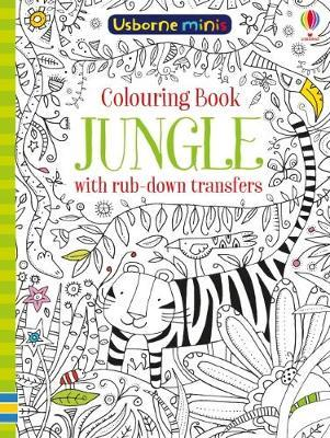 Colouring Book Jungle Rub Down Transfers by Sam Smith