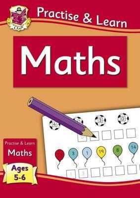 New Practise & Learn: Maths for Ages 5-6 by Books CGP