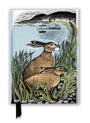 Angela Harding: Rathlin Hares (Foiled Journal)