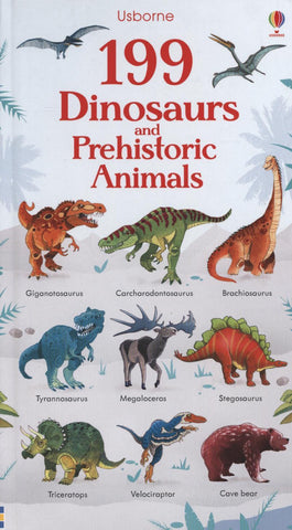 199 Dinosaurs and Prehistoric Animals by Hannah Watson