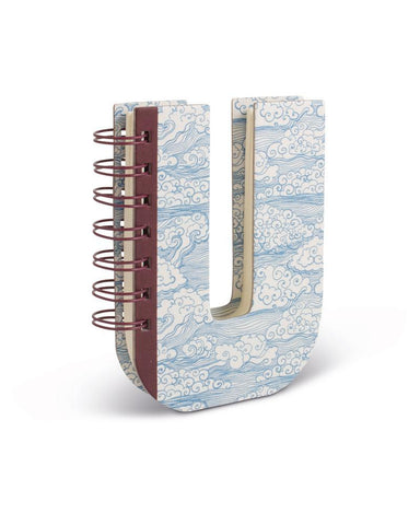 Alphabooks Note Books Letter U