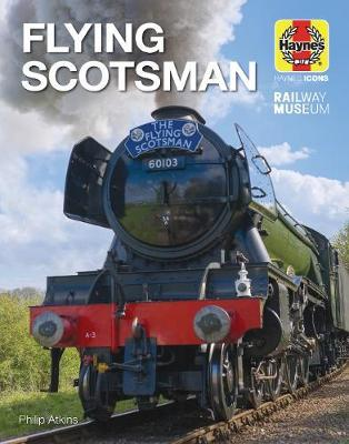 Flying Scotsman (Icon) by Philip Atkins