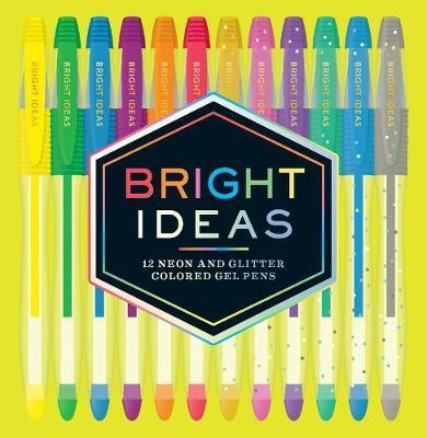 Bright Ideas Neon & Sparkle Gel Pens by Chronicle Books , Chronicle Books