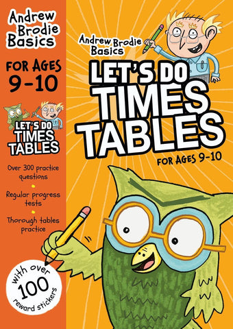 Let's do Times Tables 9-10 by Andrew Brodie