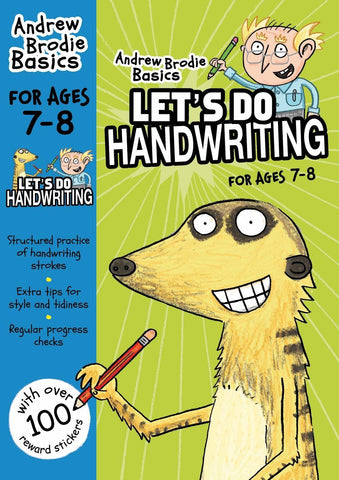 Lets Do Handwriting For Ages 7 8 by Andrew Brodie