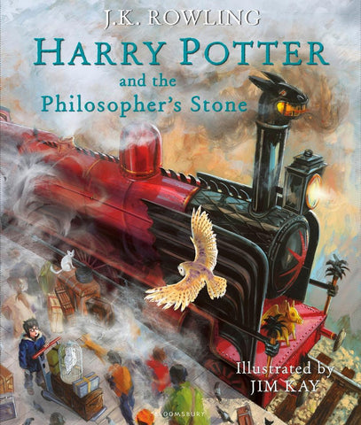 Illustrated Ed. - Harry Potter Book 1: Harry Potter and the Philosopher's Stone by J. K. Rowling
