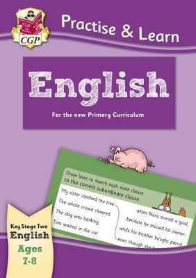 New Practise & Learn: English for Ages 7-8 by Books CGP