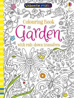 Colouring Book Garden Rub Down Transfers by Sam Smith