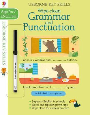 Wipe-Clean Grammar & Punctuation 6-7 by Jessica Greenwell