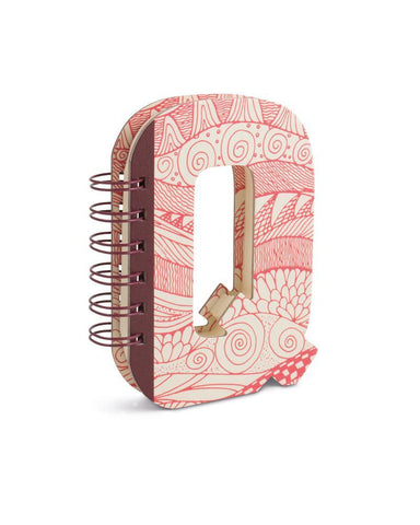 Alphabooks Note Books Letter Q